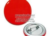 Publicidad en pins o botones publicitarios office, botones personalizados con nombre y demas