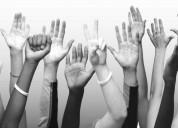 Voluntarios que deseen ser parte de una comunidad