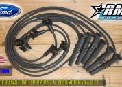 Cables de bujias ford explorer windstar ranger sport track cotour motor v6 4.0lts