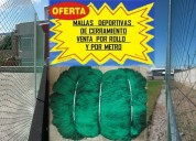 Mallas deportivas ideal para cerramiento de canchas 022526826