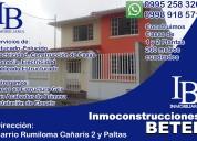 Ofrecemos asesoría profesional en venta de sus propiedades