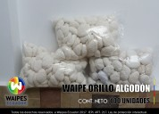Guaipe 100% algodon en bolitas entrega inmediata