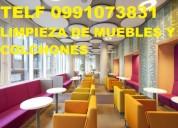 0981941777 limpieza de muebles colchones asientos de vehÍculos