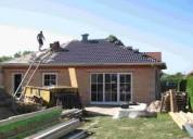 Construcción de casas y venta de propiedades..