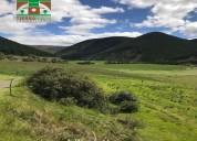 Hacienda ganadera de 50 hectÁreas  en mulala-latacunga