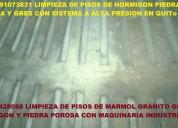 Telf 2428098 limpieza de pisos de madera y marmol con sistema a p