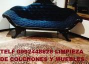 Telf 2428098 lavamos desinfeccion mueble colchones con maquinaria