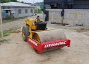 Dynapac rodillo compactador