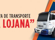 Transporte de carga, pesada mixta,  mudanzas  y fletes