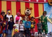 Animaciones para fiestas show masha y el oso 0998009639