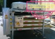 Asador de arepas laminadora maquinaria industrial para arepas