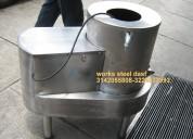 Peladora lavadora de papas procesador de vegetales