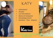 Katy escort v.i.p. colombiana rubia de lujo!!