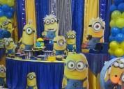 Decoración y organización de fiestas infantiles y todo tipo de eventos
