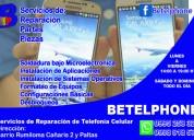 Servicios profesionales de asistencia técnica en telefonía celular