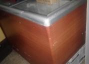 Vendo congelador usado con vidrios corredizos