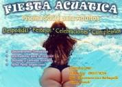 Fiestas acuaticas en piscina privada