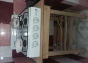 Vendo cocineta de 4 hornillas a gas