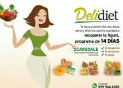 Deli diet: servicio de dietas y comida saludable a domicilio.