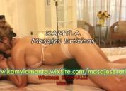 Masajes eroticos con kamyla y sus masajistas
