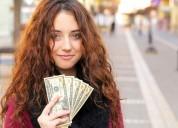 Dinero hoy gratis a mujeres y chicas