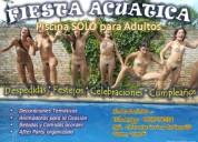 Fiestas acuaticas - eventos contractuales para adultos