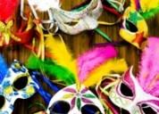 Carnaval de locura en masajes del sur