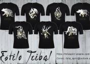 Camisetas estilo tribal