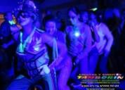 Hora loca glow, fiesta fluorescente, fiesta neon