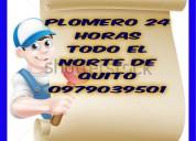 Plomero en cobre  24h norte de quito 0979039501