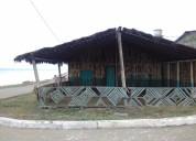 casa y cabaña frente al mar en playa de san lorenzo, vistas paradisíacas, zona tranquila y segura