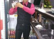 Barman profesional con tres aÑos de experiencia