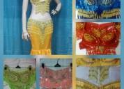 Alquiler trajes para danza arabe o zamba