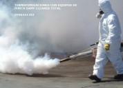 Eliminacion de bacterias esporas casas departamentos