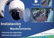 Cámaras de seguridad, centrales telefonicas venta e instalación