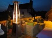 Calefactores calentadores de terraza patio jardin negocios