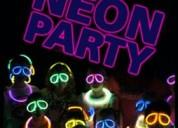 Fiestas de adolescentes, disco teen neon, tematicas, graduaciones, etc.