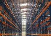 Venta de perchas metalicas, racks para bodegas almacenaje de mercaderia
