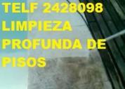 Telf 2428098 lavamos pisos de hormigon y piedra porosa con sistem
