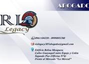 abogados - rio legacy