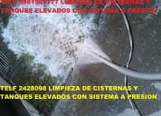 Telf 0991073831 realizamos limpieza desinfeccion de cisternas