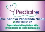 Pediatra dra. kennya peñaranda