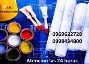 Los mejores descuentos en trabajos de pintura y mas interesados llamar al 0969622728