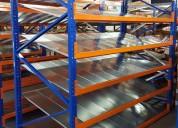 Venta de perchas metalicas, estanterias para bodegas y oficinas