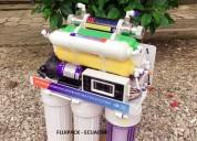 Purificador de agua Ósmosis inversa 6-7 etapas