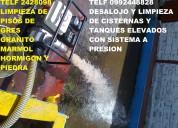 Telf 0987058464 expert en desalojo de inundaciones