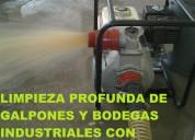 Telf 2428098 limpieza y clorado de cisternas y tanques de agua li