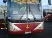 Bus de transporte panamericana internacional