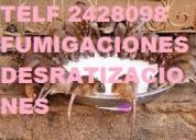 Sanitacion y desinfeccion para furgones
