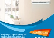 Servicios de instalación de aires acondicionados